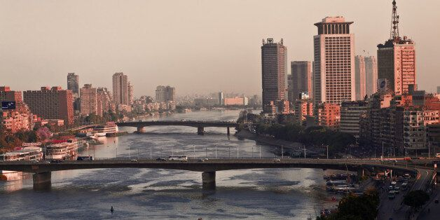 A view of Cairo and the River