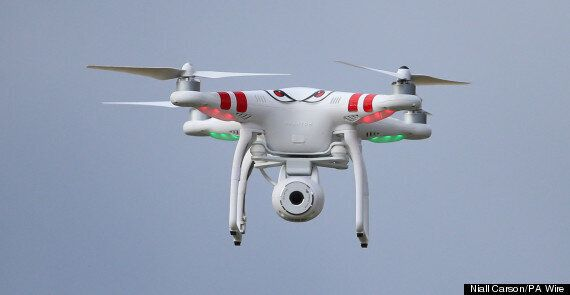 Drone 'Nearly Collided' With Passenger Jet At