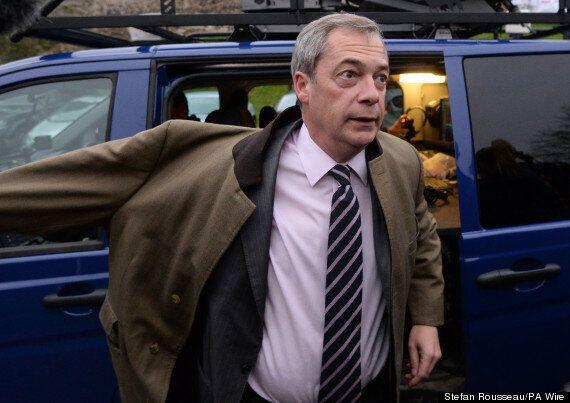 Nigel Farage Blames M4 Traffic Jam On...
