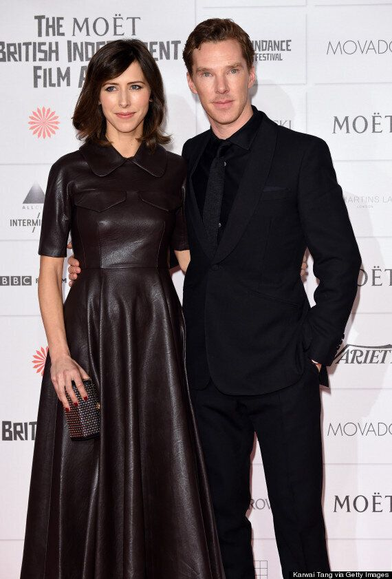 Benedict Cumberbatch And Fiancé Sophie Hunter Lead Celebs At The Moet Independent Film Awards