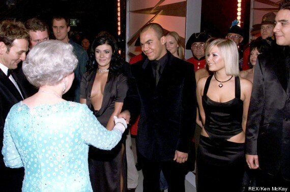 Kym Marsh Thinks The Queen 'Stared At My Boobs' After Royal Variety
