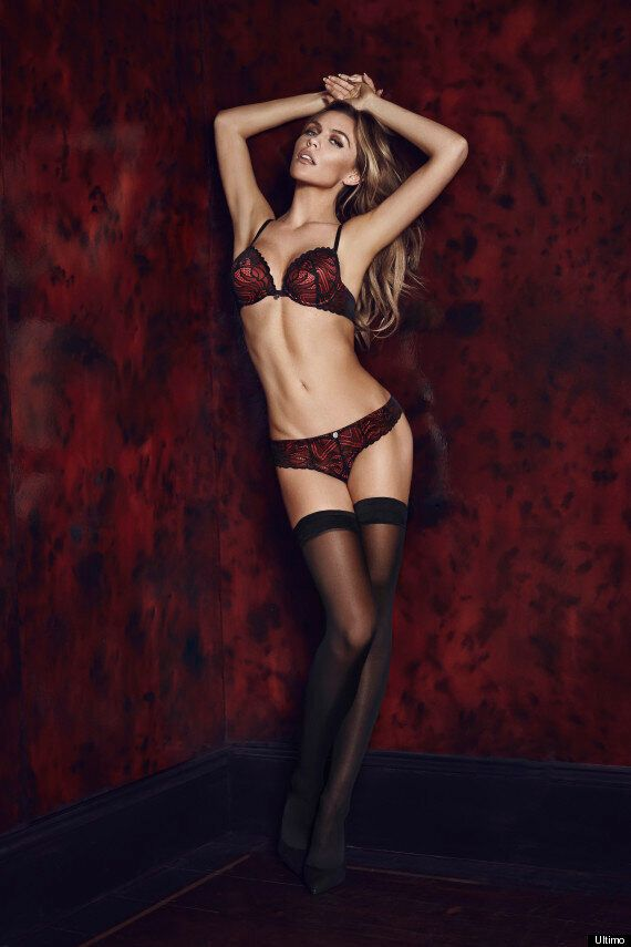 Abbey Clancy Poses For New Ultimo Underwear Shoot Despite Rift Rumours
