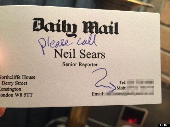 Russell Brand Tweets Journalist, Neil Sear's Phone Number To 8.7 Million Followers, Apology