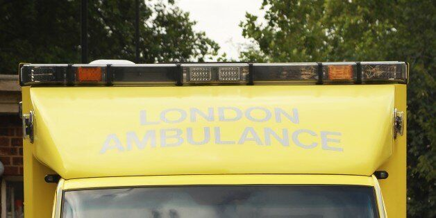 Ambulance, fire and police crews were called to the scene in Montagu Square (file