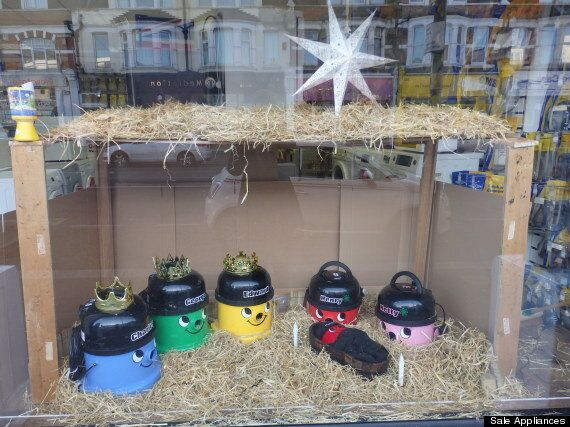 This Henry Hoover Nativity Scene Wins The