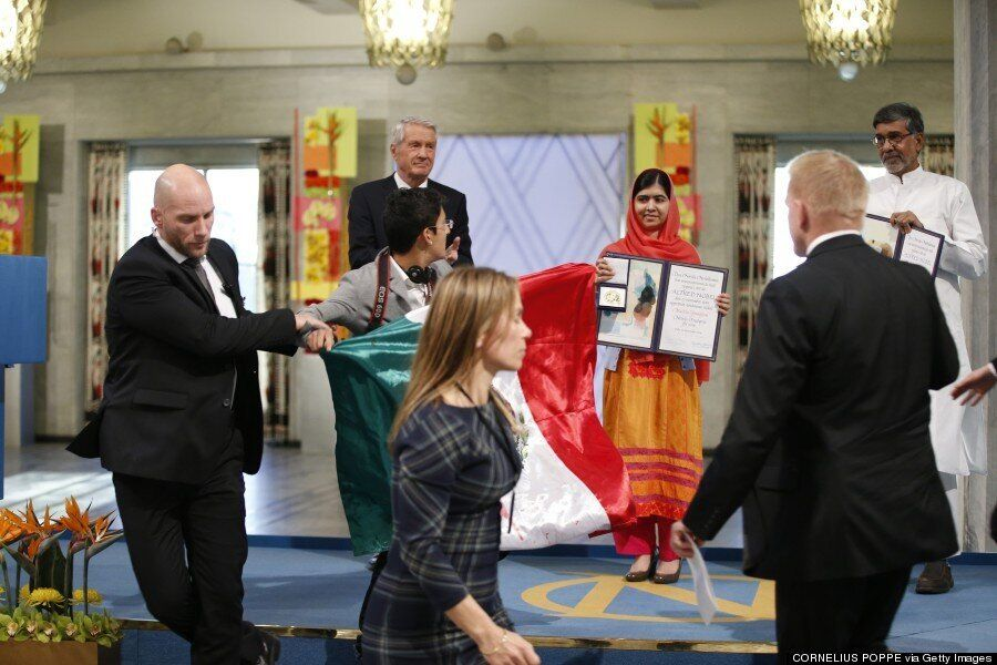 Malala Yousafzai Nobel Peace Prize Ceremony Stormed By Mexican
