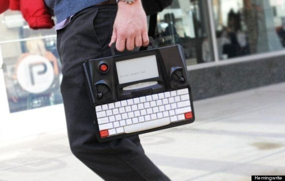 Kickstarter Project 'Hemingwrite' Aims To Bring Back The
