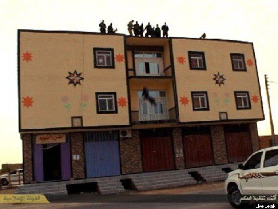 Islamic State Throw Gay Man From Roof In Horrifying Scenes