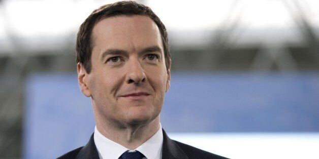 Britain's Chancellor of the Exchequer George Osborne attends the official launch of the City Football...