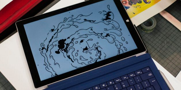 Ditto Press bring design to life on Microsoft Surface Pro