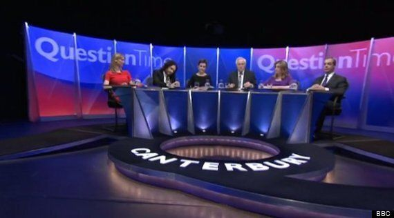Russell Brand Calls Nigel Farage 'A Poundshop Enoch Powell' On Question