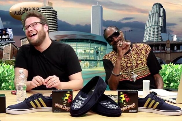 Seth Rogen And Snoop Dogg Got Stoned Again And Here's The