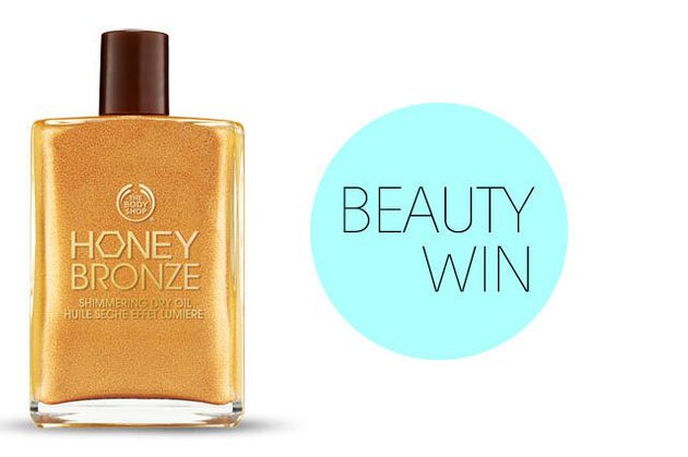 WIN! This Honey-Bronze Dry Oil From The Body Shop With