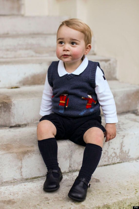 Prince George Pictures Released For Christmas Show Kate And Wills' Baby Growing Up