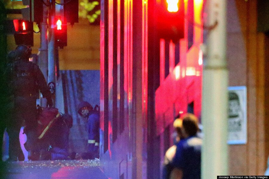 Sydney Siege: The Moment Police Stormed The Cafe As Hostages