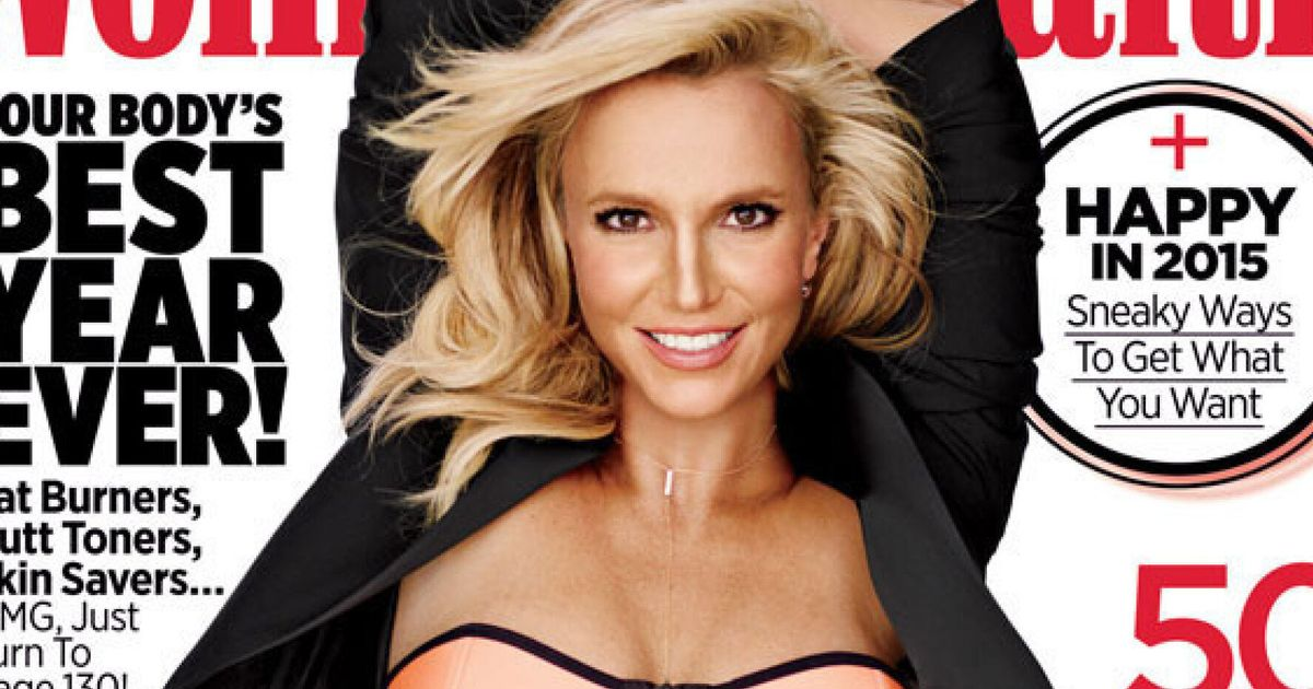 6fe8ca4db4df3 Britney Spears Shows Off Washboard Abs In A Neon Bikini For Women's Health  Photo Shoot (PIC)