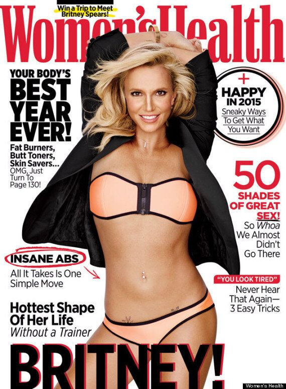 Britney Spears Shows Off Washboard Abs In A Neon Bikini For Women's Health Photo Shoot