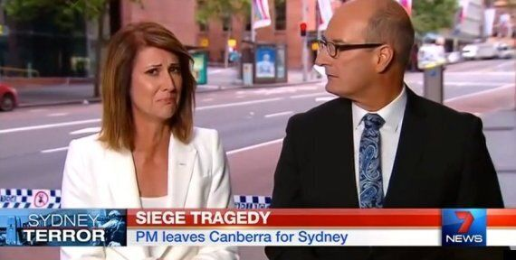 Sydney Siege: Sunrise Host Natalie Barr Weeps As She Reveals Death Of Katrina
