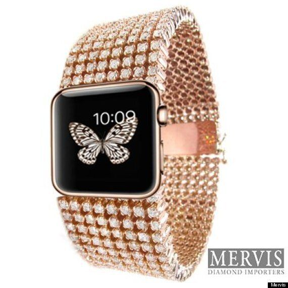 This $30,000 Diamond-Covered Apple Watch Is Literally The Worst
