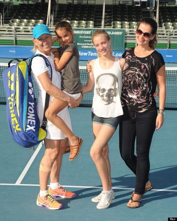 Martina Navratilova Marries Her Long-Term Partner Julia Lemigova In New