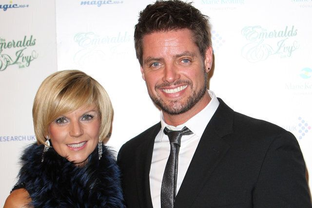 Keith Duffy and his wife Lisa