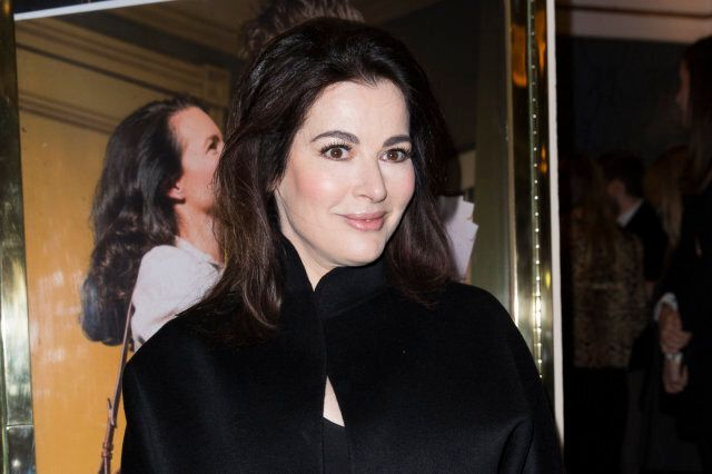 LONDON, ENGLAND - MARCH 25:  Nigella Lawson attends the press night of 'Fatal Attraction' at Theatre Royal on March 25, 2014 in London, England.  (Photo by Tristan Fewings/Getty Images)