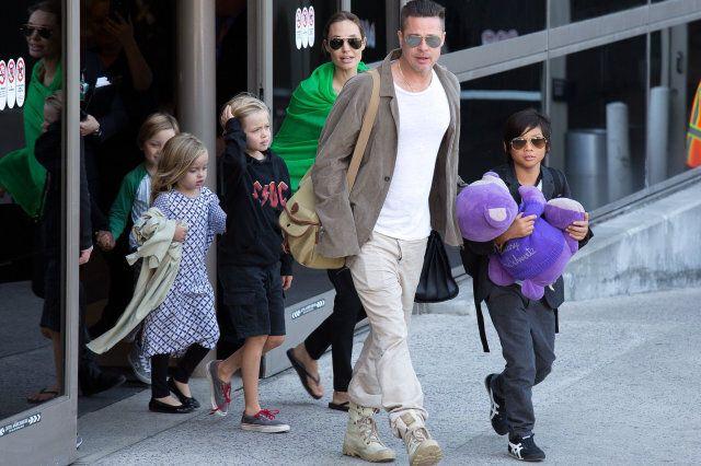 Brad Pitt is model father says Angelina Jolie