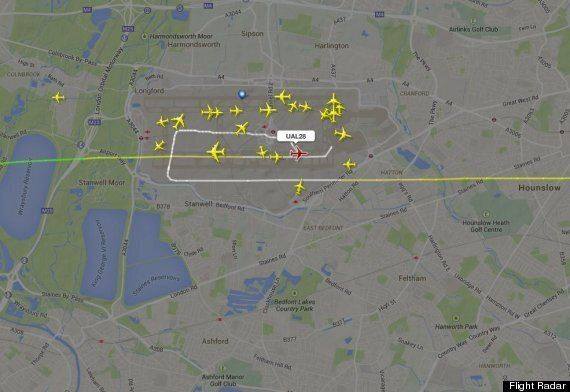 United Airlines UA28 Plane Lands Safely After Four Hour Ordeal Over English