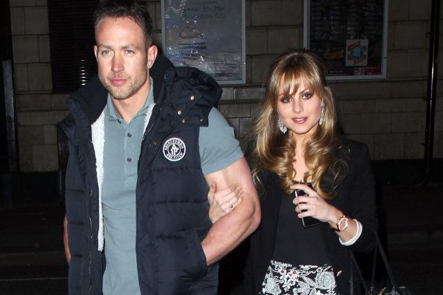 Tina O'Brien and Adam Crofts attend the opening night party for