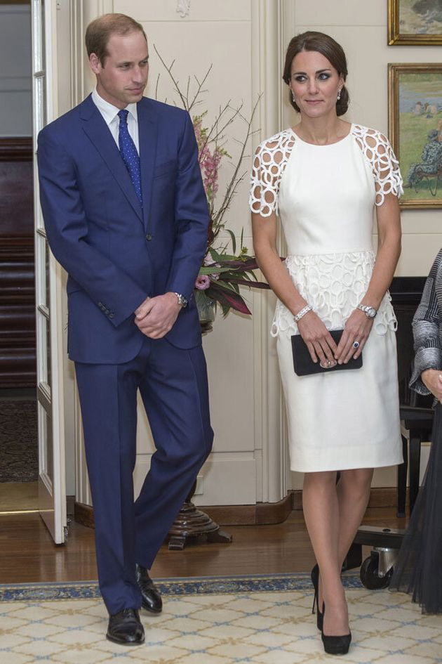 See All the Royal Fashion from Will & Kates Tour of