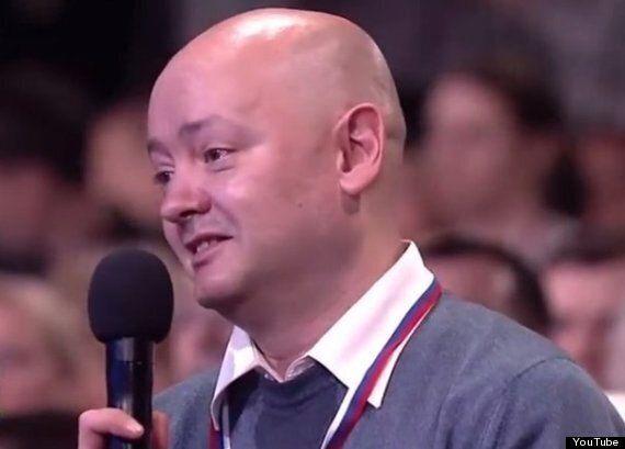 Vladimir Putin Jokes Stroke Survivor Journalist Is