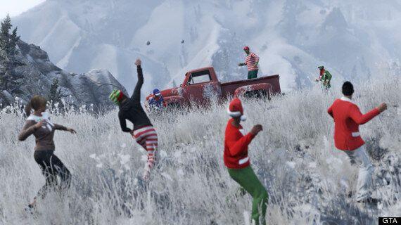GTA Online Now Has Snowball