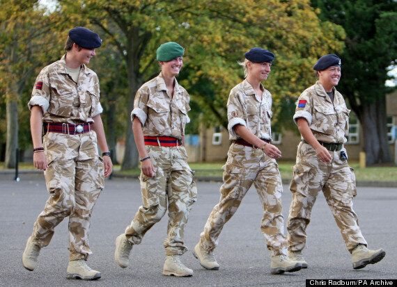 Women Fighting On The Front Line Is A 'Politically Correct' Mistake... Says Female