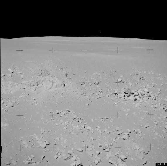 UFO Found In Archive Footage Of Apollo 15