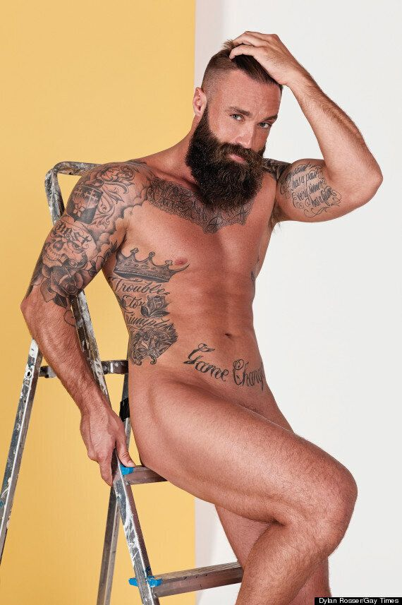 'Great British Bake Off' Contestant Iain Watters, 'Strictly' Champ Louis Smith And Calum Best Get Naked...
