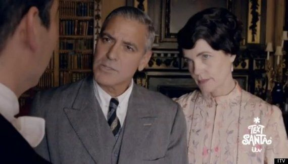 Text Santa: George Clooney Makes An Appearance In 'Downton Abbey'