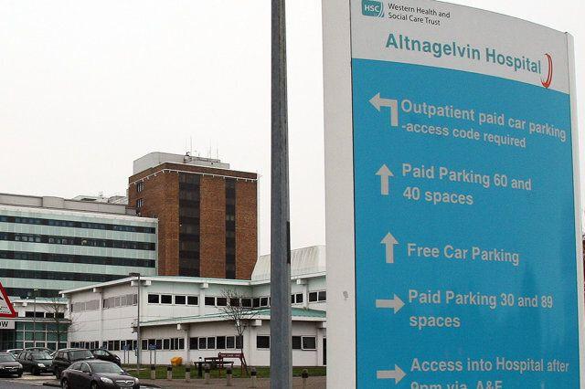 Altnagelvin Hospital in Derry