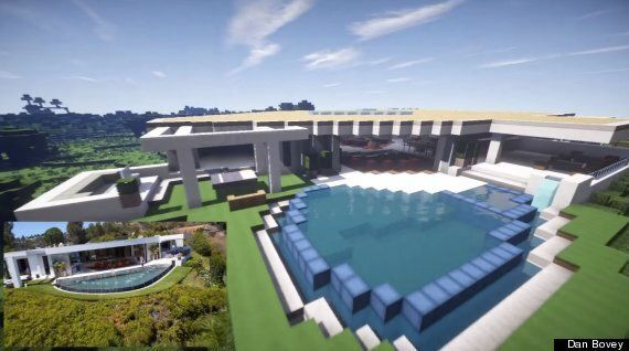 Someone Built Minecraft Creator's Giant Mansion In