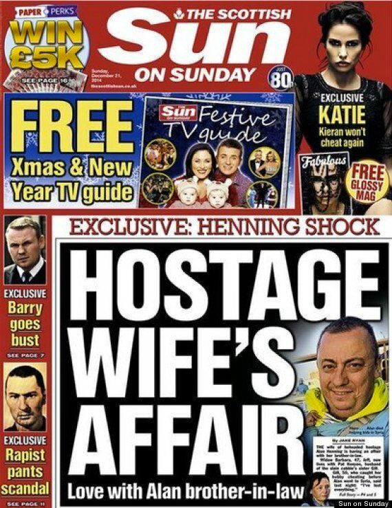 Even Ex-Sun Reporters Thought The Tabloid's Alan Henning Expose Was In Bad