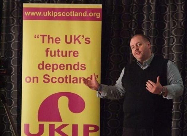 Ukip 'Spy On Enemies' Scottish Party Chairman Arthur Thackeray