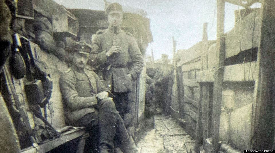 Wwi Christmas Truce.Heartwarming Letter From The Trenches Details Wwi Christmas