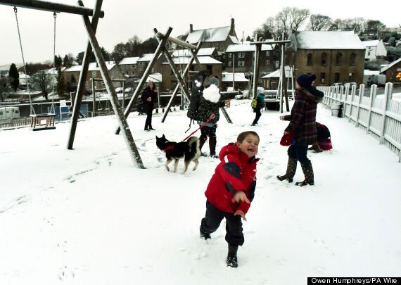 90% Chance Of Snow Between Boxing Day & New Year As Cold Snap Grips