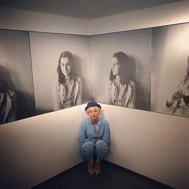 Beyonce Visits Anne Frank Museum And Posts Instagram Pictures Of Her