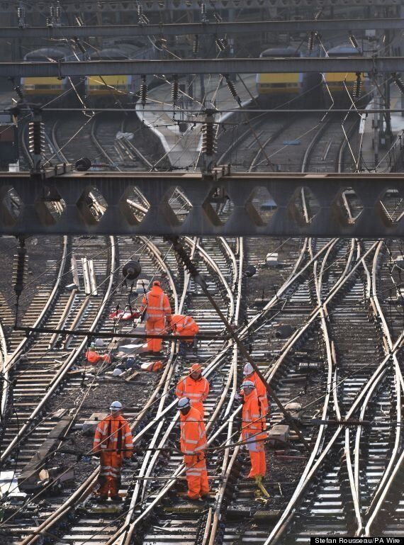 London Commuters Warned To Expect More Delays As Engineering Work