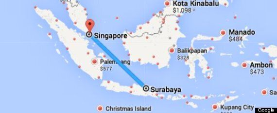 Search For Missing Plane AirAsia Flight QZ8501