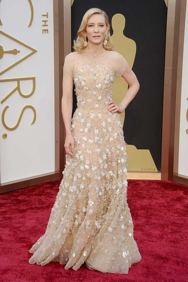 e4cccb8cd72 Cate Blanchett's Oscars Outfit Was Worth A Massive $18million ...