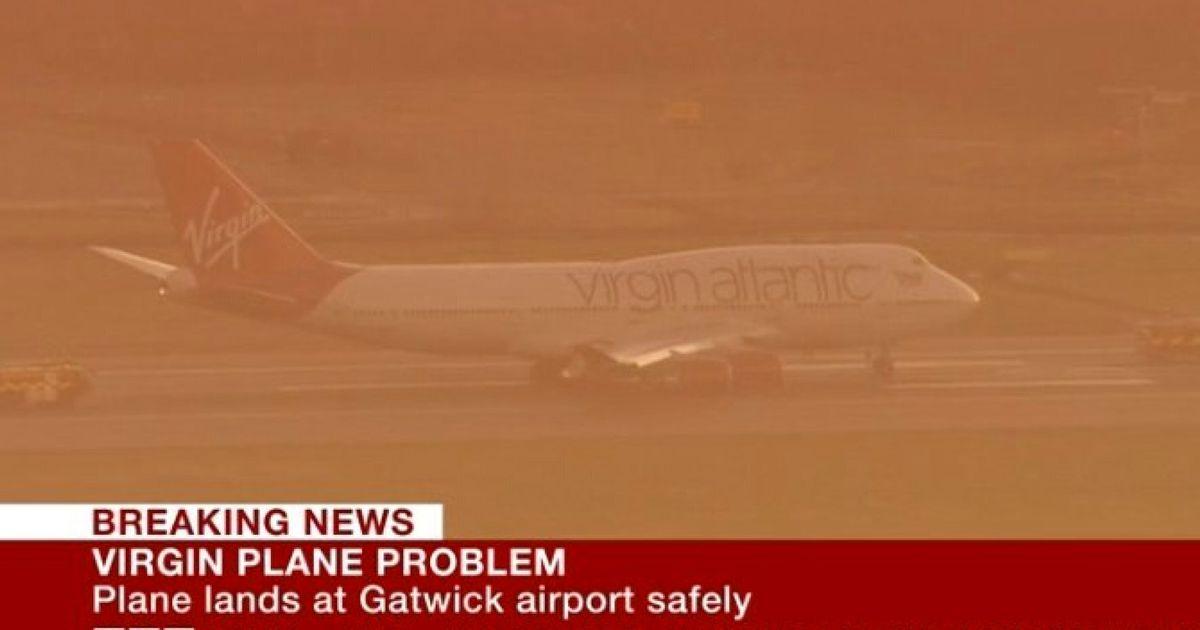 747 Forced Into Gatwick Emergency Landing By Landing Gear