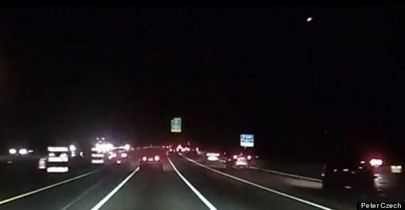 Huge Meteor Causes Fireball Over