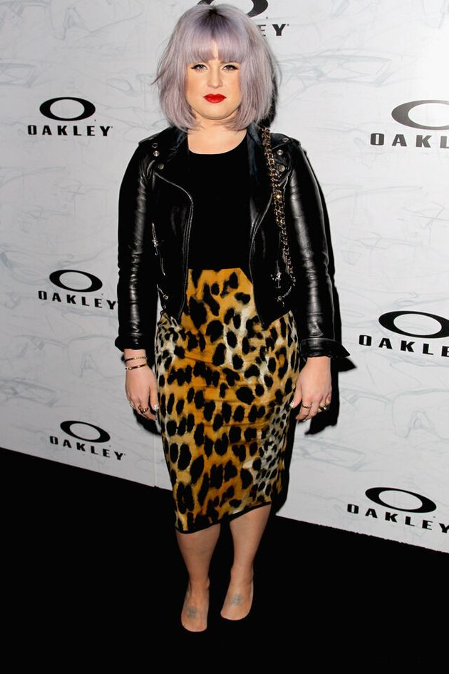Kelly Osbourne Makes An Excellent Case For Wearing A Leopard Print Pencil Skirt At Oakley's Disruptive...
