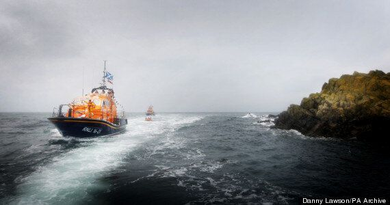 Fears As Cargo Ship Overturns In Storm Off Scottish
